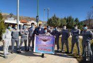 بازیکنان و کادر فنی باشگاه مارون قبل از اعزام به مسابقات سوپرلیگ کشور با رئیس هیات کاراته استان دیدارکردند