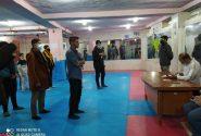 ثبت نام افراد در اردوی تیم منتخب استان برای شرکت در تیم ملی