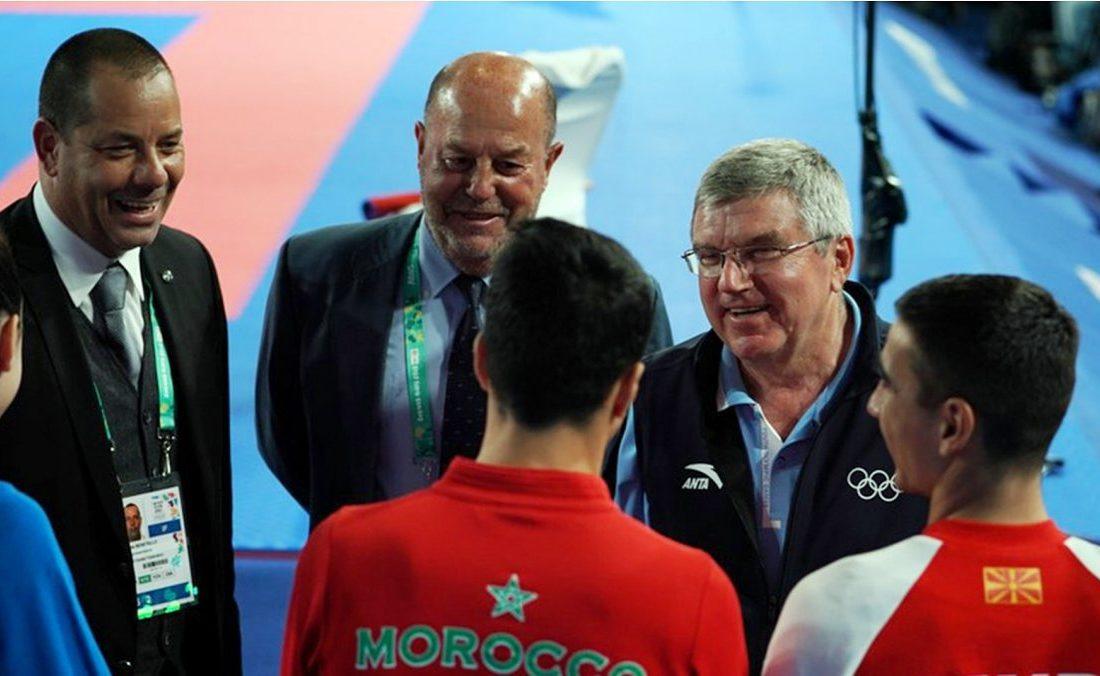 پیام تبریک رییس کمیته بین المللی المپیک به مناسبت پنجاهمین سالگرد تاسیس فدراسیون جهانی کاراته