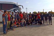 اعزام تیم کاراته آقایان استان به مسابقات انتخابی کشوری